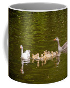 Greylag Goose Family Coffee Mug