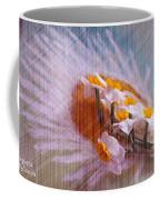 Grid Above Flowers Coffee Mug