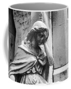 Grieving Statue Coffee Mug by Jennifer Ancker