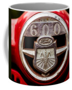 Grill Logo Detail - 1950s-vintage Ford 601 Workmaster Tractor Coffee Mug