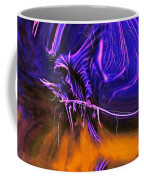 Grim Reaper In Abstract Coffee Mug