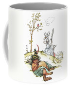 Grimm: Wolf And Seven Kids Coffee Mug