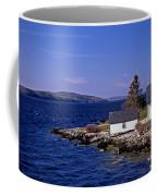 Grindel Point Lighthouse Coffee Mug by Skip Willits