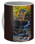 Grist Mill In Babcock State Park West Virginia Coffee Mug