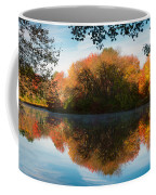 Grist Millpond Framed Coffee Mug by Michael Blanchette
