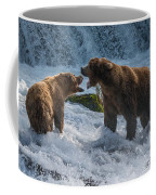 Grizzlies Fighting Coffee Mug