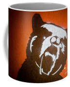 Grizzly Bear Graffiti Coffee Mug by Edward Fielding