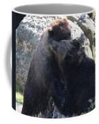 Grizzly Bears Fighting Coffee Mug