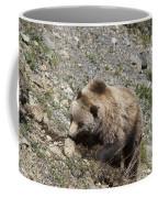 Grizzly Digging Coffee Mug