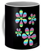 Groovy Flowers 4 Coffee Mug