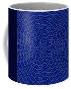 Mandala Blue Marvel Coffee Mug