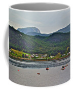 Gros Morne Mountain Over Bonne Bay At Norris Point In Gros Morne Np-nl Coffee Mug