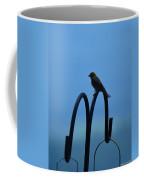 Grosbeak Silhouette Coffee Mug