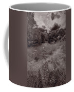 Gross Point Beach Grasses Bw Coffee Mug