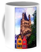 Gross St. Martin In Cologne Germany Coffee Mug