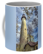Grosse Point Lighthouse Color Coffee Mug