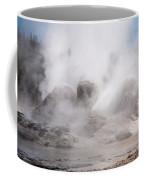 Grotto Geyser In Upper Geyser Basin In Yellowstone National Park Coffee Mug
