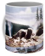 Grotto Geyser Yellowstone Np Coffee Mug