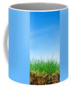 Ground Grass And Sky Coffee Mug