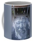 ground mosaic in the cultural center of Granada Nicaragua Coffee Mug