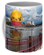Grounded By The Storm Balloon Ride Walt Disney World Coffee Mug