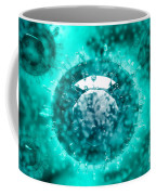 Group Of H5n1 Virus With Glassy View Coffee Mug