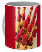 Group Of Red Lipsticks Coffee Mug