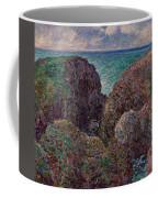 Group Of Rocks At Port Goulphar Coffee Mug