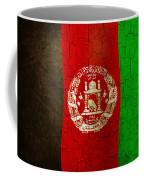Grunge Afghanistan Flag Coffee Mug