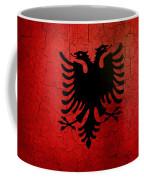 Grunge Albania Flag Coffee Mug