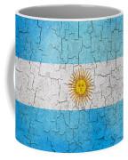 Grunge Argentina Flag Coffee Mug