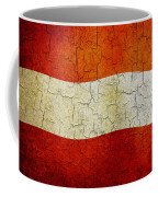 Grunge Austria Flag Coffee Mug