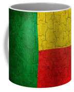 Grunge Benin Flag Coffee Mug