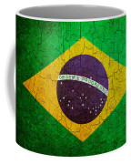 Grunge Brazil Flag Coffee Mug