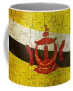 Grunge Brunei Flag Coffee Mug