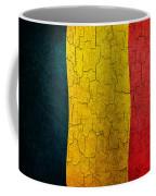 Grunge Chad Flag Coffee Mug