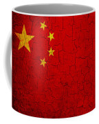 Grunge China Flag Coffee Mug