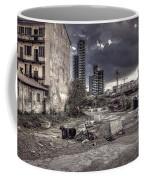 Grunge Cityscape Coffee Mug
