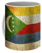 Grunge Comoros Flag Coffee Mug