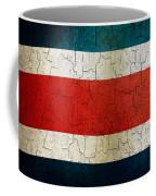 Grunge Costa Rica Flag Coffee Mug