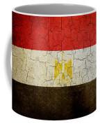Grunge Egypt Flag Coffee Mug
