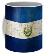 Grunge El Salvador Flag Coffee Mug