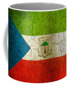 Grunge Equatorial Guinea Flag Coffee Mug