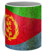 Grunge Eritrea Flag Coffee Mug