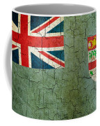 Grunge Fiji Flag Coffee Mug