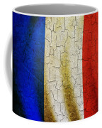 Grunge France Flag Coffee Mug
