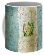 Grunge Guatemala Flag Coffee Mug