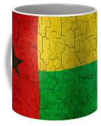 Grunge Guinea-bissau Flag Coffee Mug