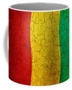 Grunge Guinea Flag Coffee Mug