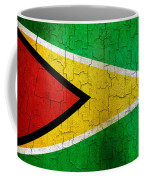 Grunge Guyana Flag Coffee Mug